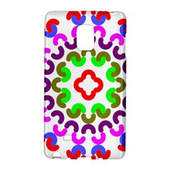 Decoration Red Blue Pink Purple Green Rainbow Galaxy Note Edge