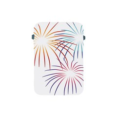 Fireworks Orange Blue Red Pink Purple Apple Ipad Mini Protective Soft Cases by Alisyart