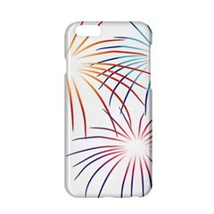 Fireworks Orange Blue Red Pink Purple Apple Iphone 6/6s Hardshell Case