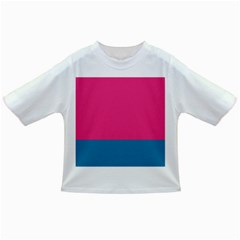 Flag Color Pink Blue Infant/toddler T Shirts by Alisyart