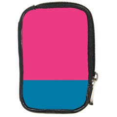 Flag Color Pink Blue Compact Camera Cases