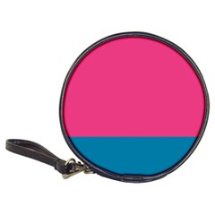 Flag Color Pink Blue Classic 20 Cd Wallets