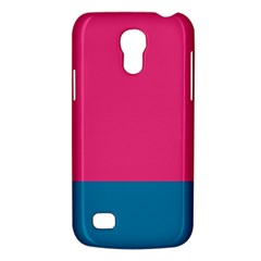 Flag Color Pink Blue Galaxy S4 Mini by Alisyart