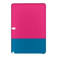 Flag Color Pink Blue Samsung Galaxy Tab Pro 10 1 Hardshell Case by Alisyart