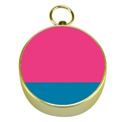 Flag Color Pink Blue Gold Compasses by Alisyart