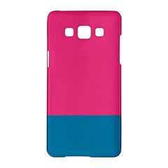 Flag Color Pink Blue Samsung Galaxy A5 Hardshell Case  by Alisyart
