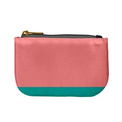Flag Color Pink Blue Line Mini Coin Purses by Alisyart