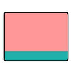 Flag Color Pink Blue Line Fleece Blanket (small) by Alisyart