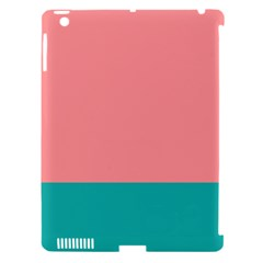 Flag Color Pink Blue Line Apple Ipad 3/4 Hardshell Case (compatible With Smart Cover) by Alisyart