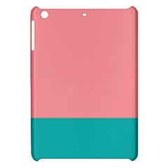 Flag Color Pink Blue Line Apple Ipad Mini Hardshell Case by Alisyart