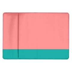 Flag Color Pink Blue Line Samsung Galaxy Tab 10 1  P7500 Flip Case by Alisyart