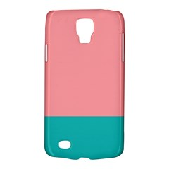 Flag Color Pink Blue Line Galaxy S4 Active by Alisyart