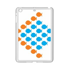 Fish Arrow Orange Blue Ipad Mini 2 Enamel Coated Cases