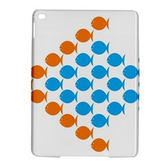 Fish Arrow Orange Blue Ipad Air 2 Hardshell Cases by Alisyart