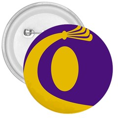 Flag Purple Yellow Circle 3  Buttons