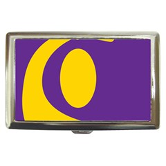 Flag Purple Yellow Circle Cigarette Money Cases by Alisyart