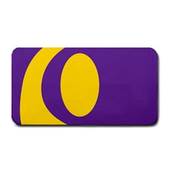 Flag Purple Yellow Circle Medium Bar Mats by Alisyart