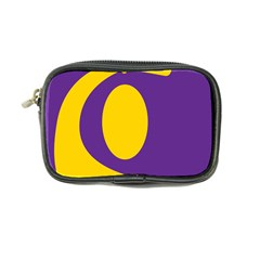 Flag Purple Yellow Circle Coin Purse by Alisyart