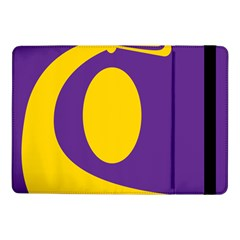 Flag Purple Yellow Circle Samsung Galaxy Tab Pro 10 1  Flip Case by Alisyart