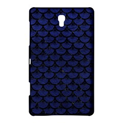 Scales3 Black Marble & Blue Leather (r) Samsung Galaxy Tab S (8 4 ) Hardshell Case  by trendistuff