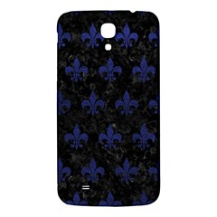 Royal1 Black Marble & Blue Leather (r) Samsung Galaxy Mega I9200 Hardshell Back Case by trendistuff