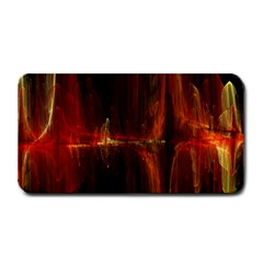 The Burning Of A Bridge Medium Bar Mats by designsbyamerianna
