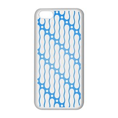 Batik Pattern Apple Iphone 5c Seamless Case (white) by Simbadda