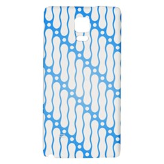 Batik Pattern Galaxy Note 4 Back Case