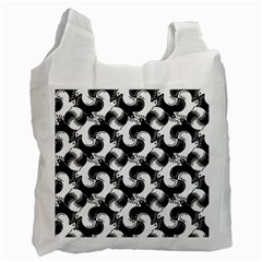 Birds Flock Together Recycle Bag (two Side)  by Simbadda