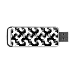 Birds Flock Together Portable Usb Flash (two Sides) by Simbadda