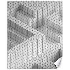 Design Grafis Pattern Canvas 16  X 20   by Simbadda