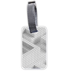 Design Grafis Pattern Luggage Tags (two Sides) by Simbadda