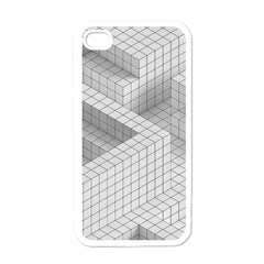 Design Grafis Pattern Apple Iphone 4 Case (white) by Simbadda