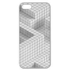 Design Grafis Pattern Apple Seamless Iphone 5 Case (clear) by Simbadda