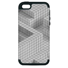 Design Grafis Pattern Apple Iphone 5 Hardshell Case (pc+silicone) by Simbadda