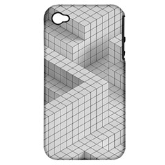 Design Grafis Pattern Apple Iphone 4/4s Hardshell Case (pc+silicone) by Simbadda