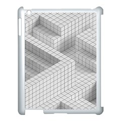 Design Grafis Pattern Apple Ipad 3/4 Case (white) by Simbadda
