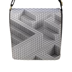 Design Grafis Pattern Flap Messenger Bag (l)  by Simbadda