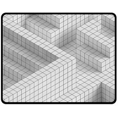 Design Grafis Pattern Double Sided Fleece Blanket (medium)  by Simbadda
