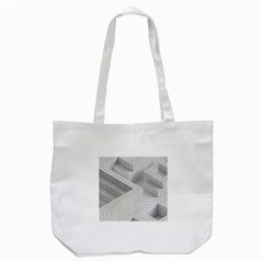 Design Grafis Pattern Tote Bag (white) by Simbadda