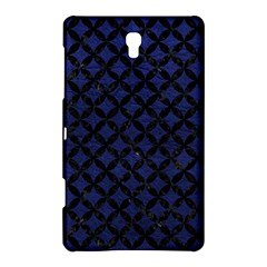 Circles3 Black Marble & Blue Leather (r) Samsung Galaxy Tab S (8 4 ) Hardshell Case  by trendistuff