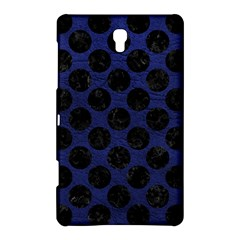 Circles2 Black Marble & Blue Leather (r) Samsung Galaxy Tab S (8 4 ) Hardshell Case  by trendistuff