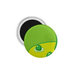Food Egg Minimalist Yellow Green 1 75  Magnets by Alisyart