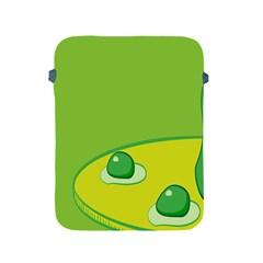 Food Egg Minimalist Yellow Green Apple Ipad 2/3/4 Protective Soft Cases by Alisyart