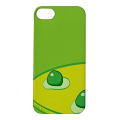 Food Egg Minimalist Yellow Green Apple Iphone 5s/ Se Hardshell Case by Alisyart