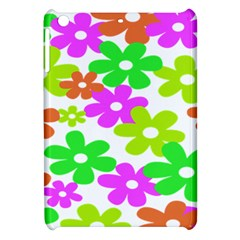 Flowers Floral Sunflower Rainbow Color Pink Orange Green Yellow Apple Ipad Mini Hardshell Case by Alisyart