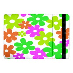 Flowers Floral Sunflower Rainbow Color Pink Orange Green Yellow Samsung Galaxy Tab Pro 10 1  Flip Case