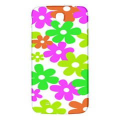 Flowers Floral Sunflower Rainbow Color Pink Orange Green Yellow Samsung Galaxy Mega I9200 Hardshell Back Case