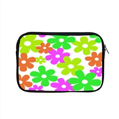 Flowers Floral Sunflower Rainbow Color Pink Orange Green Yellow Apple Macbook Pro 15  Zipper Case by Alisyart