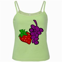 Fruit Grapes Strawberries Red Green Purple Green Spaghetti Tank